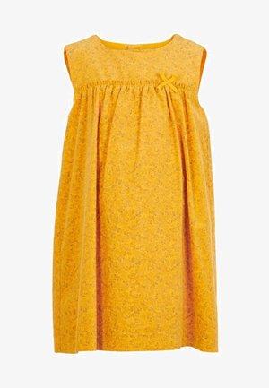 Sukienka letnia - golden orange