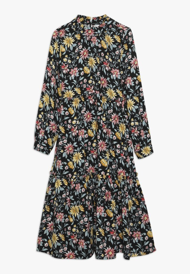 NKFSAIRA LONG DRESS - Vapaa-ajan mekko - black