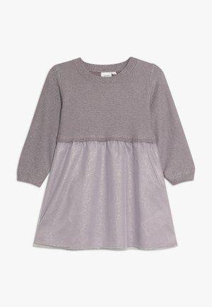 NMFSALINA DRESS - Koktejlové šaty/ šaty na párty - sea fog