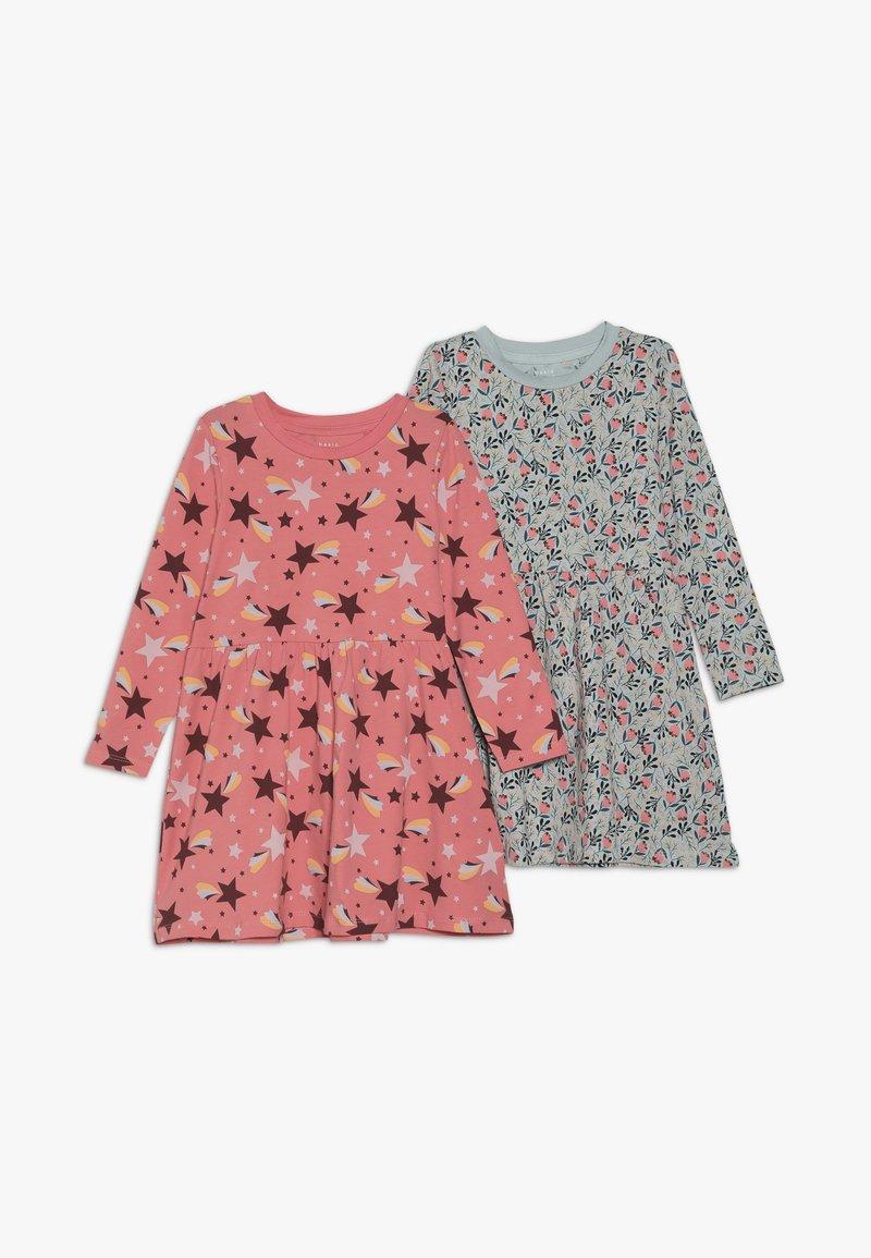 Name it - NMFVUSANNE DRESS 2 PACK - Jerseyklänning - sugar coral