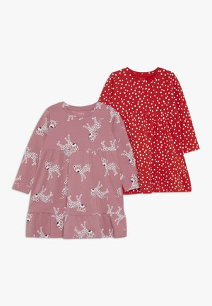 NMFVICKY DRESS 2 PACK - Jerseykjoler - heather rose