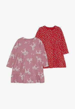 NMFVICKY DRESS 2 PACK - Jerseykleid - heather rose