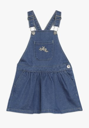 NMFBEHILLA - Denní šaty - medium blue denim