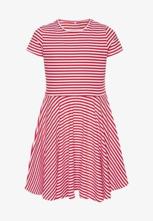NKFVIVETTE DRESS  - Vestido ligero - high risk red