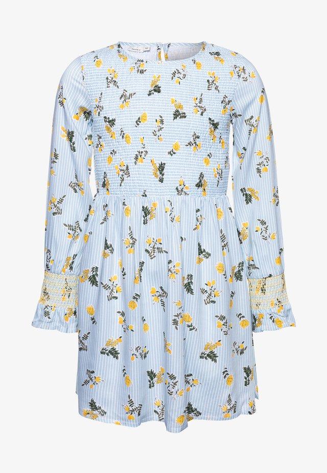 NKFDEMMA DRESS BOX - Day dress - dream blue