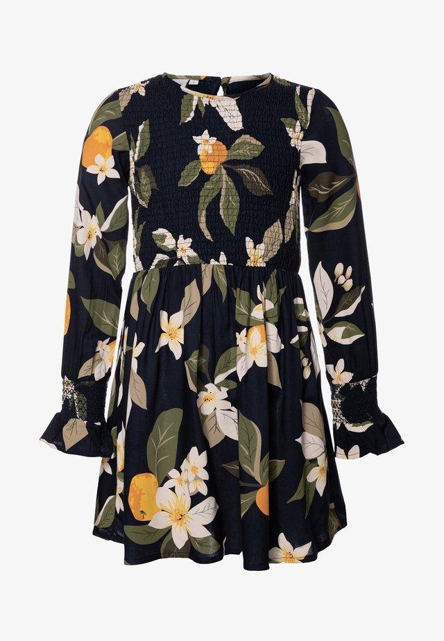NKFDEMMA DRESS BOX - Day dress - dark sapphire