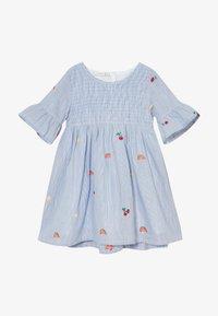 Name it - NMFDENISE DRESS - Košilové šaty - dazzling blue - 3
