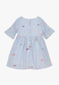 Name it - NMFDENISE DRESS - Košilové šaty - dazzling blue - 1