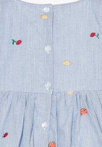 Name it - NMFDENISE DRESS - Košilové šaty - dazzling blue - 4