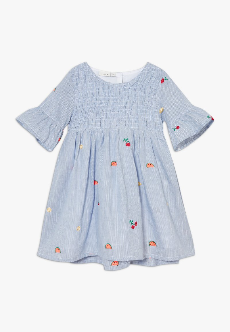 Name it - NMFDENISE DRESS - Košilové šaty - dazzling blue