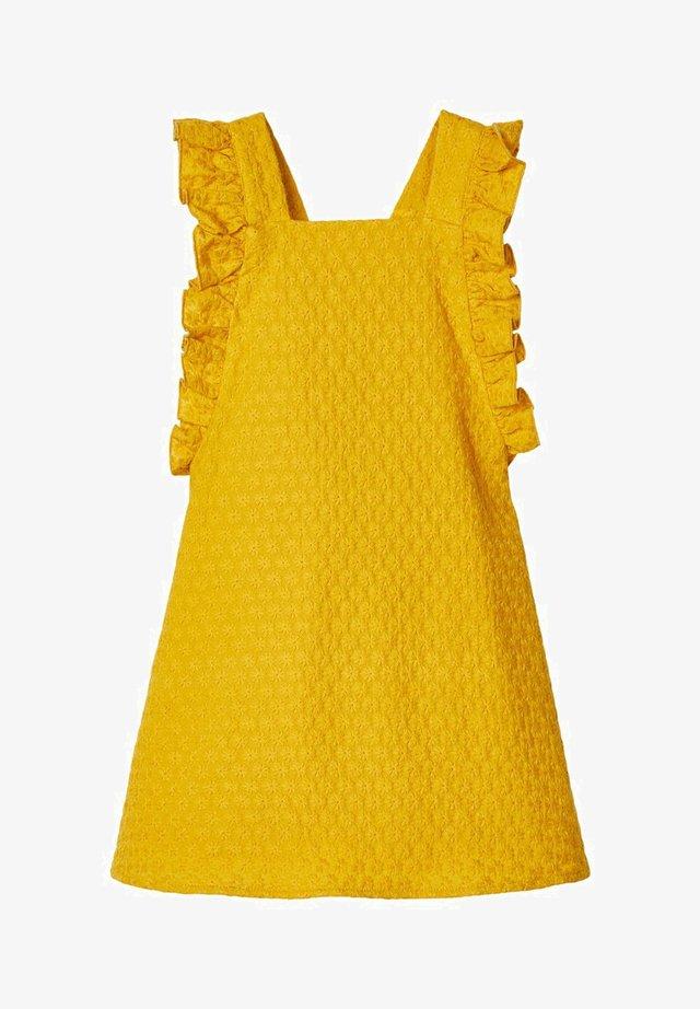 Korte jurk - nugget gold