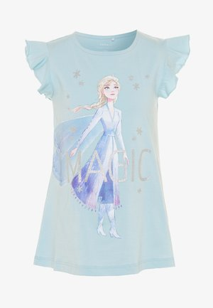 NMFFROZEN LEXA - T-shirts med print - dream blue