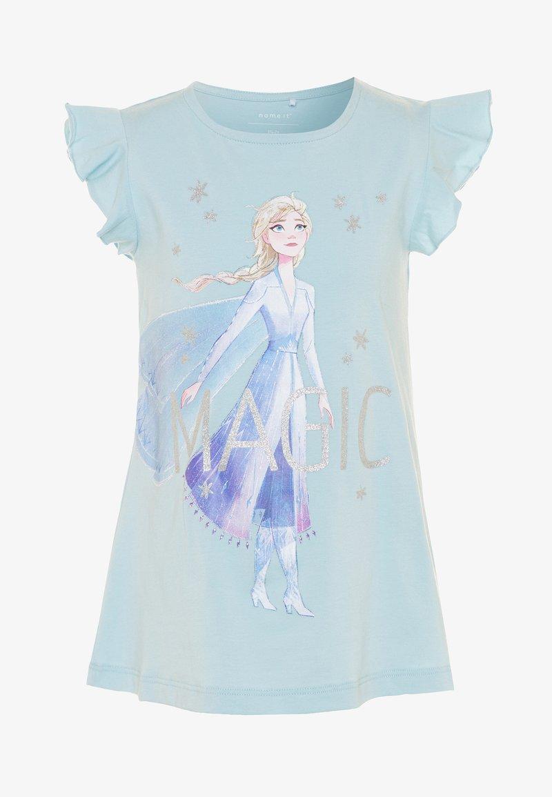 Name it - NMFFROZEN LEXA - Camiseta estampada - dream blue