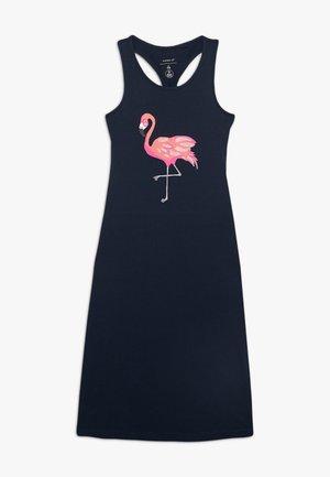 Długa sukienka - dark sapphire