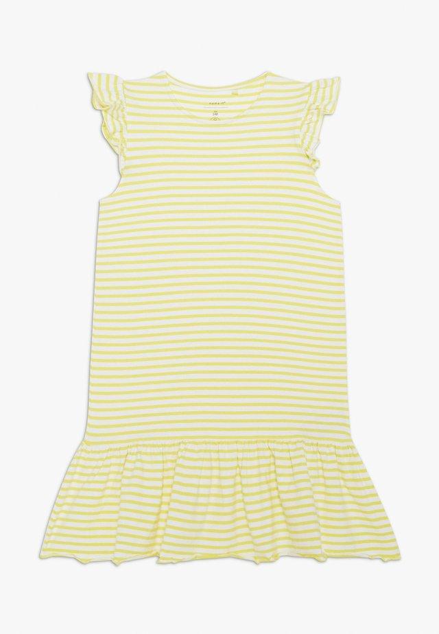 NKFJILL DRESS  - Vestito di maglina - limelight
