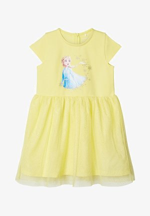 NMFFROZEN REBEC DRESS - Vestido ligero - limelight