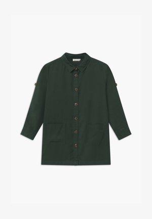 NKFLANIE TUNIC - Button-down blouse - darkest spruce