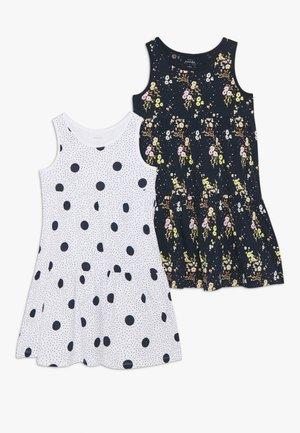 NKFVIGGA SPENCER DRESS 2 PACK - Denní šaty - bright white