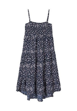 BLUMENPRINT - Day dress - dark sapphire