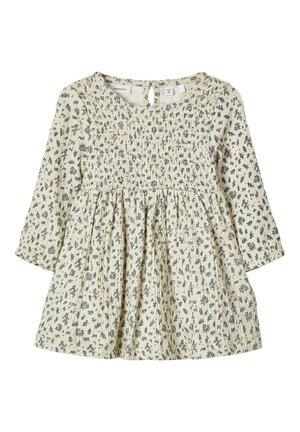 Korte jurk - bone white