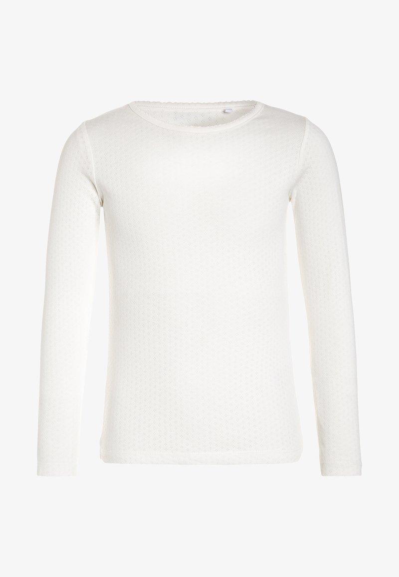 Name it - NKFVITTE - Langærmede T-shirts - snow white
