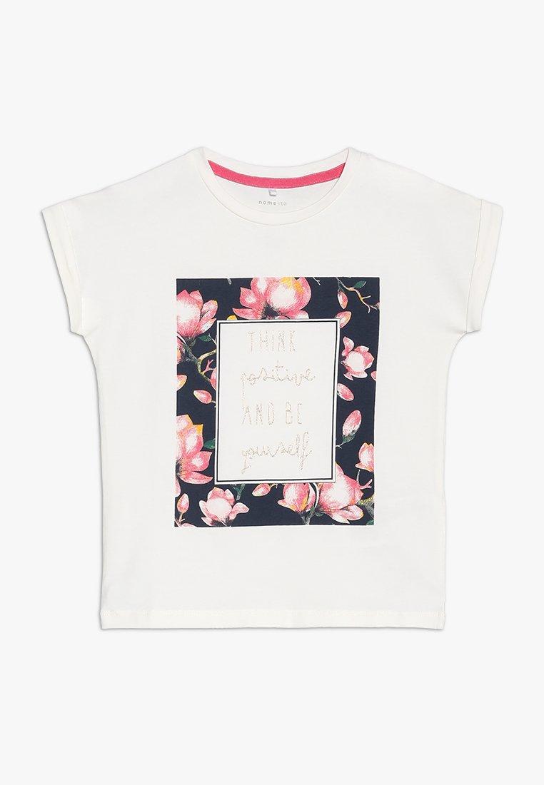 Name it - NMFFINE BOX MINI - Print T-shirt - snow white