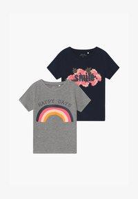 Name it - NKFVIXI BOX 2 PACK - T-shirt med print - dark sapphire - 3