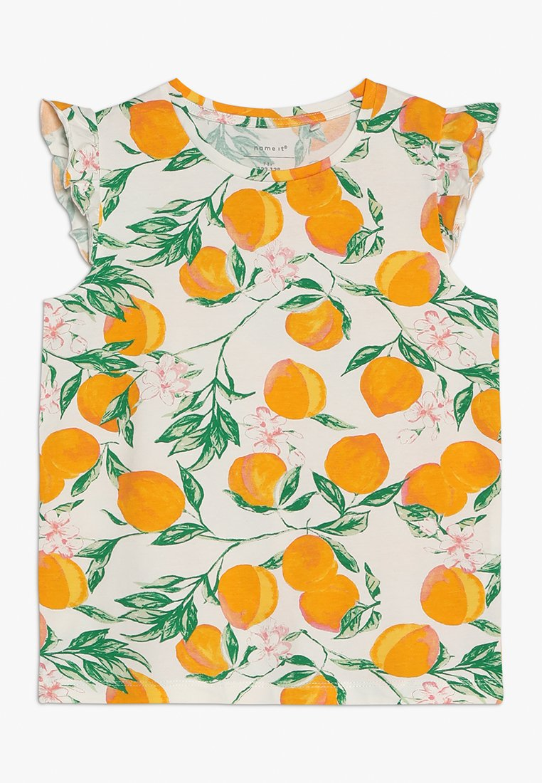Name it - NKFFIE - Print T-shirt - bright white