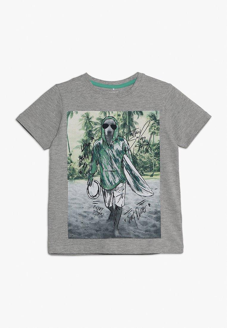 Name it - NKMCRIS - T-shirts print - grey melange