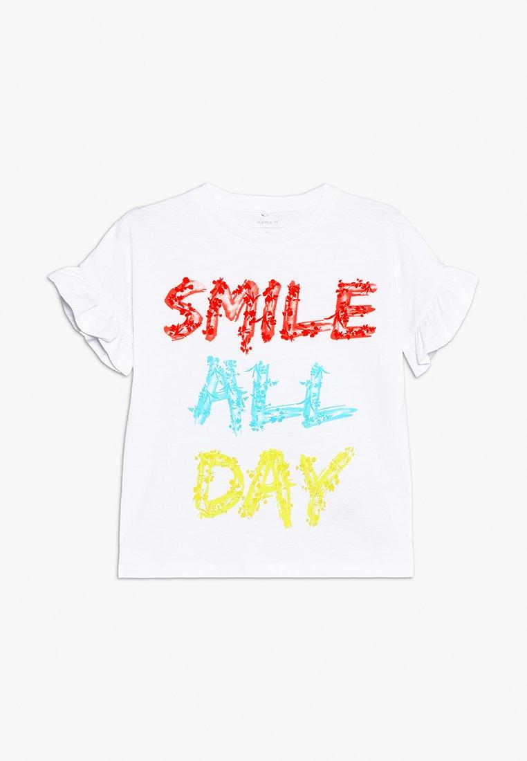 Name it - JASDINA - T-shirt print - bright white