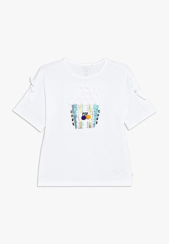 NKFJARA BOX - T-shirt print - bright white