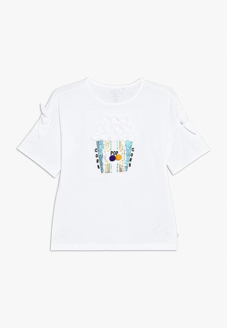 Name it - NKFJARA BOX - T-shirts print - bright white