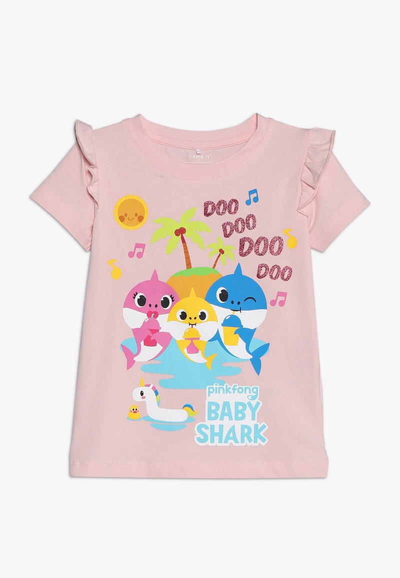 Name it - BABYSHARK TULIP  - T-shirts med print - strawberry cream