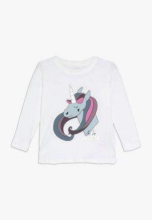 NMFKIPPA - Långärmad tröja - bright white