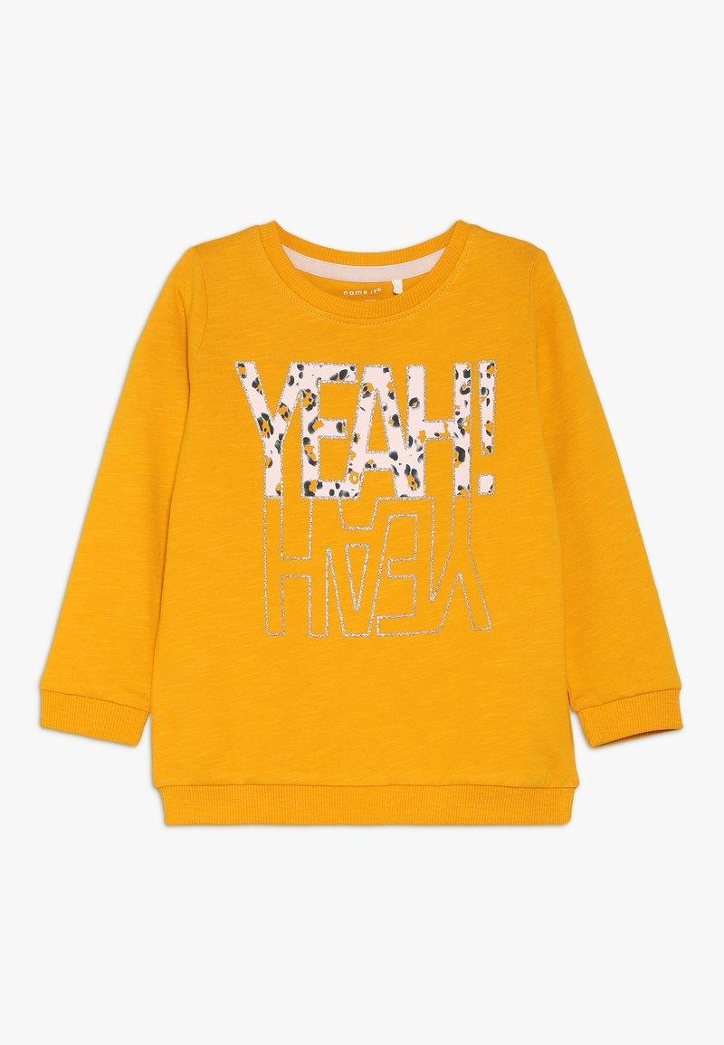 Name it - NMFLUBELLA - T-shirt à manches longues - golden orange