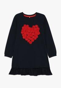 Name it - NMFLUSINA TUNIC - Camiseta de manga larga - dark sapphire - 0