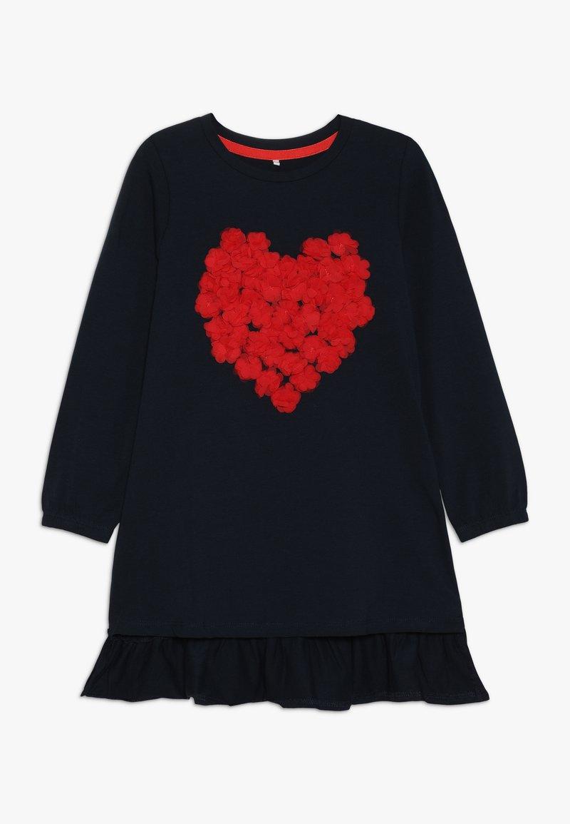 Name it - NMFLUSINA TUNIC - Camiseta de manga larga - dark sapphire