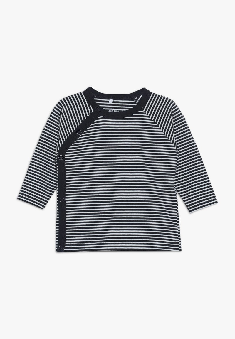 Name it - NBNDELUCIOUS WRAP STRIPE - Langarmshirt - dark sapphire