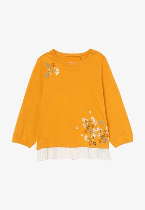 NBFNOVA - Long sleeved top - golden orange
