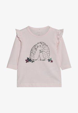 NBFODINE BOX - Maglietta a manica lunga - barely pink