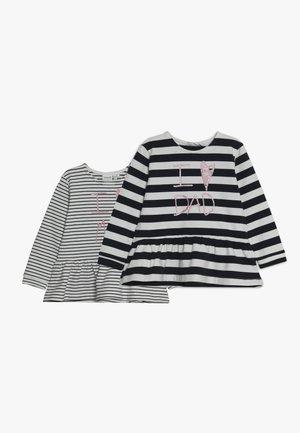 NBFOLSINE 2 PACK - Camiseta de manga larga - dark sapphire