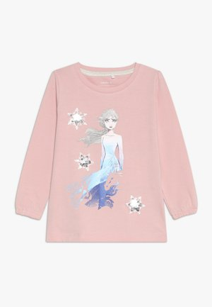 DISNEY FROZEN ELSA - Long sleeved top - silver pink