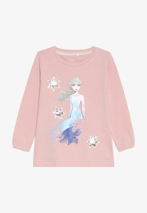 DISNEY FROZEN ELSA - Langarmshirt - silver pink