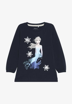 DISNEY FROZEN ELSA - Long sleeved top - dark sapphire