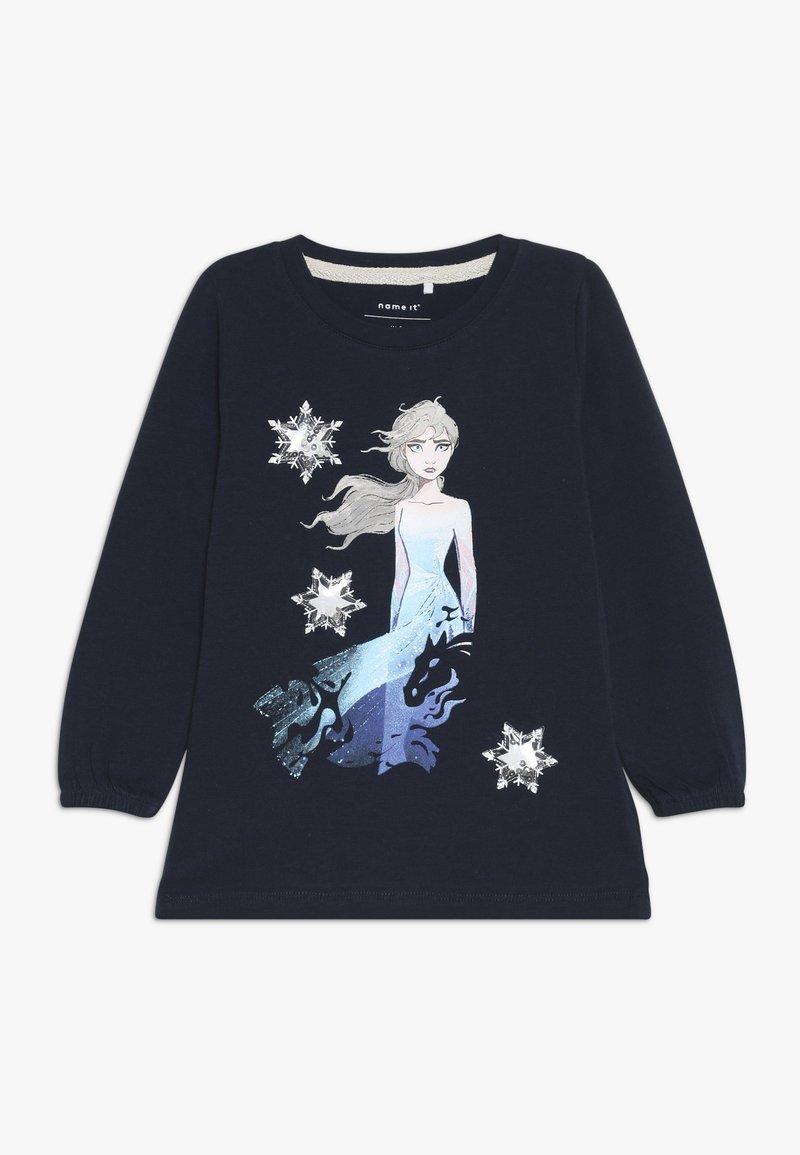 Name it - DISNEY FROZEN ELSA - T-shirt à manches longues - dark sapphire