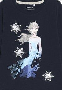 Name it - DISNEY FROZEN ELSA - T-shirt à manches longues - dark sapphire - 3