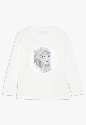 NMF DISNEY FROZEN ELSA - Long sleeved top - snow white