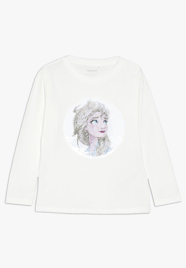 NMF DISNEY FROZEN ELSA - Pitkähihainen paita - snow white