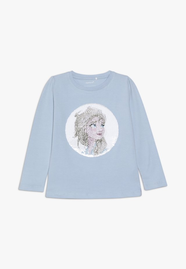 NMF DISNEY FROZEN ELSA - Long sleeved top - cashmere blue
