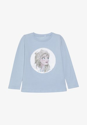 NMF DISNEY FROZEN ELSA - Long sleeved top - cashmere blue